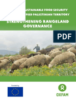 Towards Sustainable Food Security in the Occupied Palestinian Territory