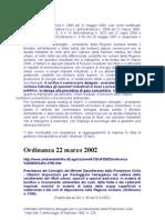 Ordinanza n. 3190 Del 22 Marzo 2002 Art 5 Deroga Dalle Norme Europee