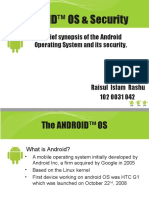Presentation-On-Android Os Security Rashu-2