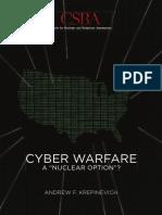 CSBA Cyber Warfare for Web 1