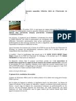Changements Majeurs Du Droit Des Sociétés OHADA