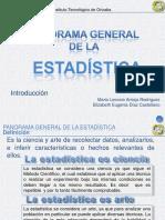 2)Estadistica Panorama General