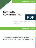Corteza Continental