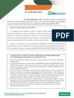 Declaração de Saúde Novo Modelo