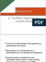 4. Conflitos Regionais No Mundo Atual