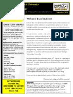Michigan Technological Intramurals Newsletter