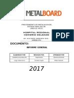 Informe de Instalacio Nde Tuberias Final - Vacio