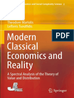 Mariolis y Tsoulfidis (2016) Modern Classical Economics and Reality