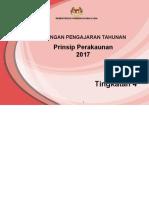 RPT Prinsip Perakaunan TING. 4 2017