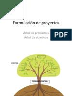 Arbol de Proyectos