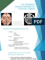 Neurología - TAC, RMN y Punción Lumbar