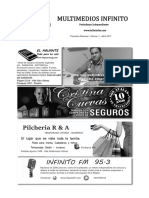 Infinito Diario - Edicion Abril