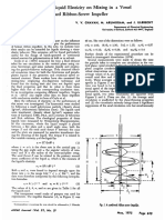 On the Influence of Liquid Elasticity on Mixing in a Vessel Agitated by a Combined Ribbon Screw Impeller