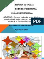 Clima Organizacional w. 2003