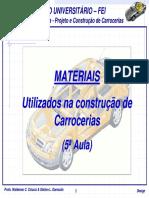 5 Aula 1 4 Materiais Utilizados Na Constru o de Carrocerias[1]