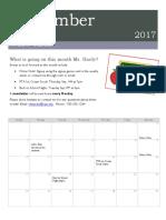 hardy calendar overview