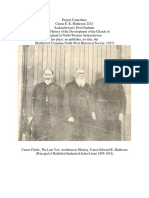 Edward K. Matheson - Principal of Battleford Industrial School from 1895-1914