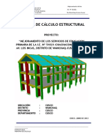 Memoria Estructural Ie n 51021 Chachacomayoc Ok!