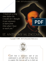 St. Anthony Mary Zaccaria Calendar - APRIL