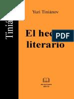 EST LIT - Tinianov - El hecho literario.pdf
