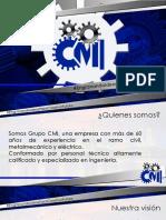 Presentación GRUPO CMI