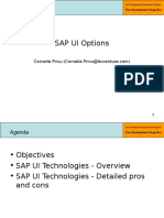 2 - Part 2 - SAP UI Options Available