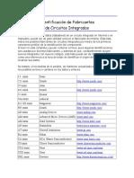 Guia Identificacion de Fabricantes de Circuitos Integrados