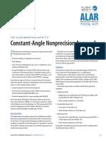 Constant Angle Non Precision Approach