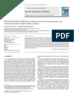 Ag+Chitosan Nanoparticule Prin Iradiere Gama