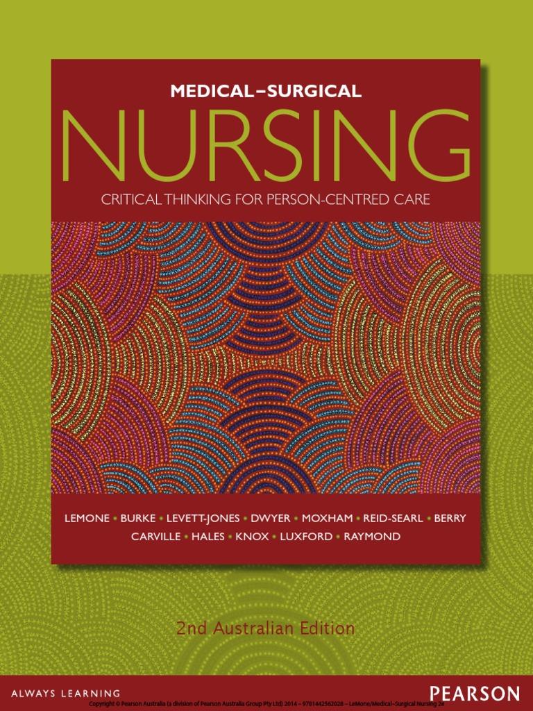 objective for resume for medical assistant%0A MedicalSurgical Nursing   nd Australian Edition  Lemone  Priscilla  SRG     Pain   Endocrine System