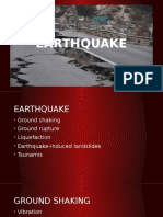 EARTHQUAKE Ground Shaking