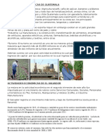 ACTIVIDADES ECONOMICAS DE GUATEMALA. SALVADOR, NICARAGU.docx
