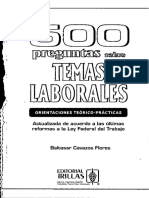 500 Preguntas Derecho Laboral