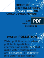 Childhood Impact of Water Pollution