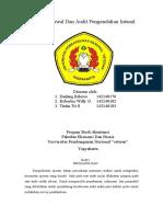 MAKALAH KELOMPOK Survei Awal Dan Audit Pengendalian Internal