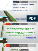 Legislación en Semillas.