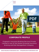 Pragmatic Insurance Broking Services - Company Flyer