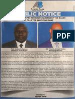 Azania Bank Appointments