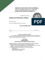 2016-01-21 CURSO DE DERECHO PROCESAL PENAL I CUNOC (1).docx