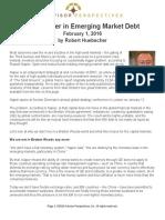 The Danger ig Market Debt