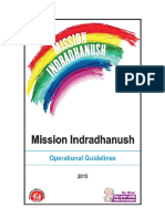 Updated Operational Guidelines for Mission Indradhanush