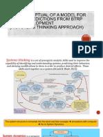 The Conceptual of a BRTP Model