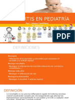Meningitis en Pediatría