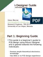 Altium Designer Intermediate Guide Glen Mercier