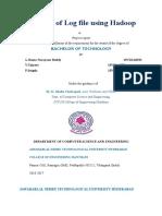 Hadoop Final Docment