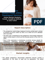 Postpartum Hemorrhage (PPH) Treatment Devices | Global Market Analysis, Trends, Growth & Outlook to 2017-2025