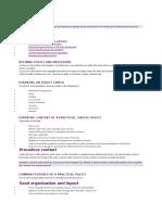 Developing HR Policies