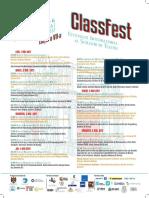 Program ClassFest