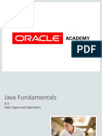 JF 4 3-Datatypes & Operators