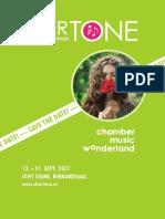 OBERTÖNE Kammermusiktage 2017 Save-the-day-flyer